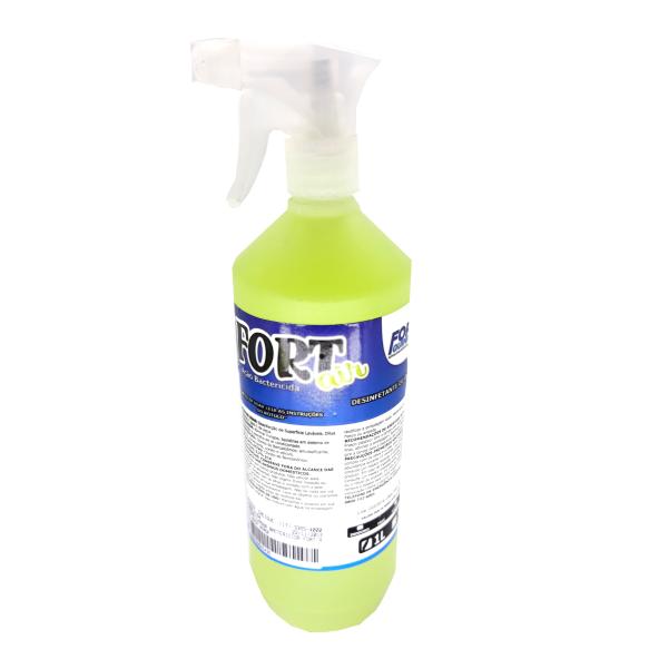 Aromatizador Bactericida Fort Air - Spray 1L- Maçã Verde