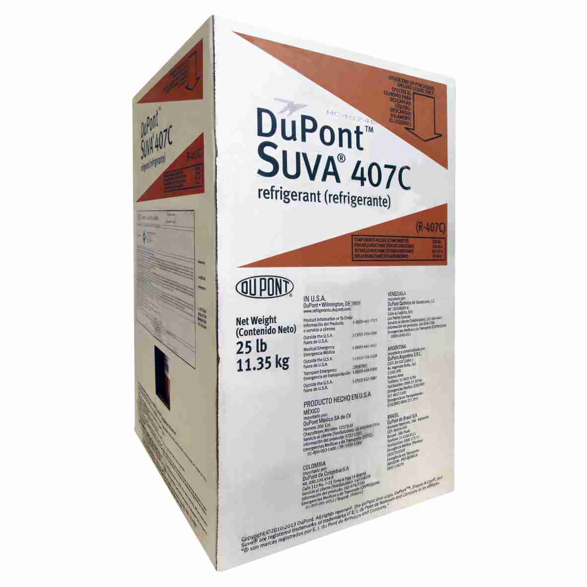 Gás DuPont R407C