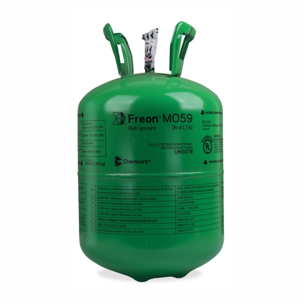 Fluído Freon Chemours ISCEON MO59 Dac 11,350Kg