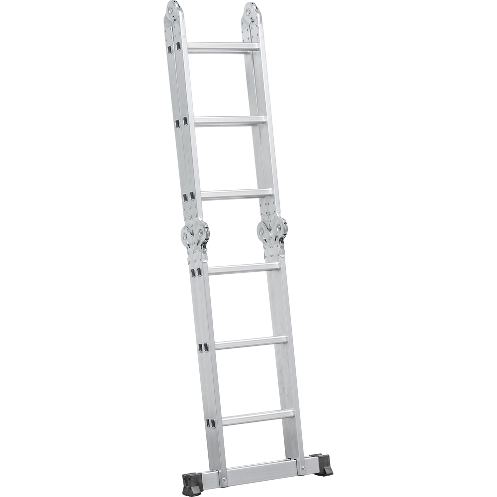 Escada articulada 3X4 - alumínio - capacidade - 120KG VONDER