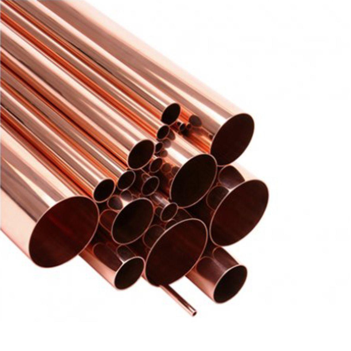 Tubo Cobre 7/8 rígido parede 1/32mm 0,462gr