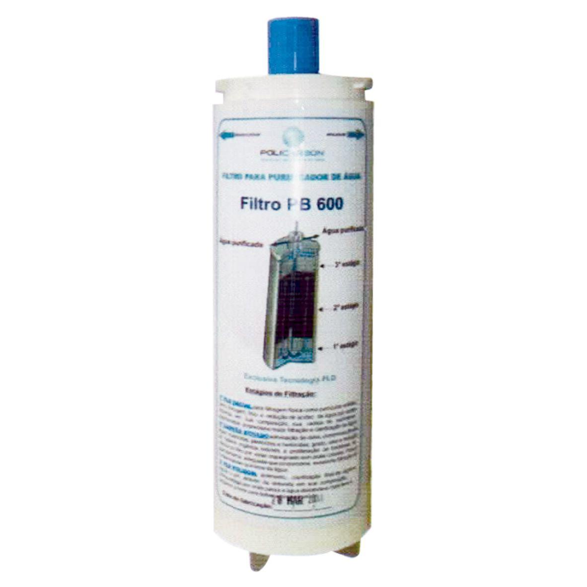 Filtro Refil PB600 PLD Branco (IBBL)