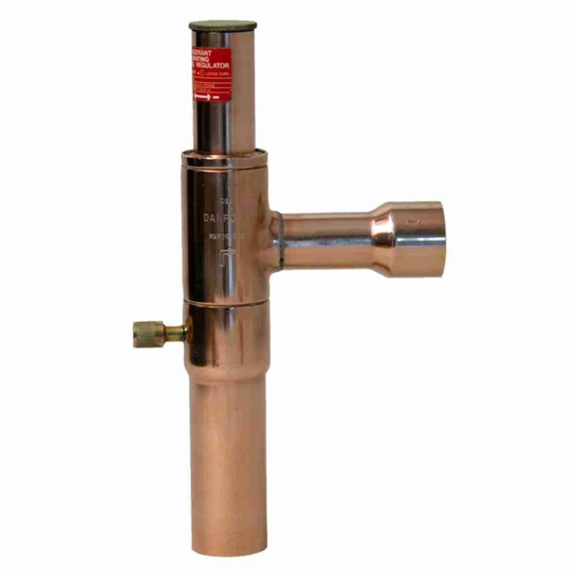 Válvula reguladora de pressão evaporador Danfoss KVP12 1/2 Solda