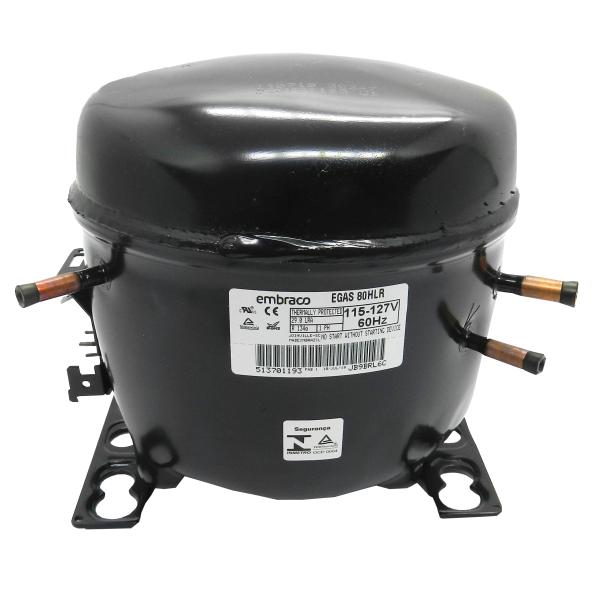 Compressor 1/4 110V R134 EGAS 80HLR Embraco