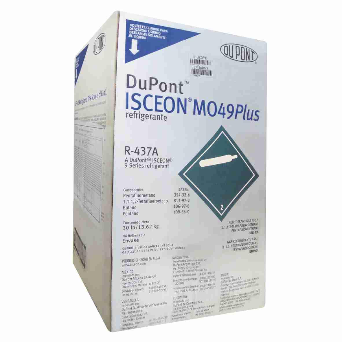 Gás DuPont MO49