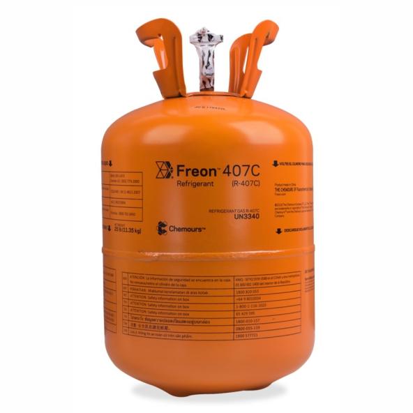 Fluído Freon Chemours R407C Dac. 11,350Kg