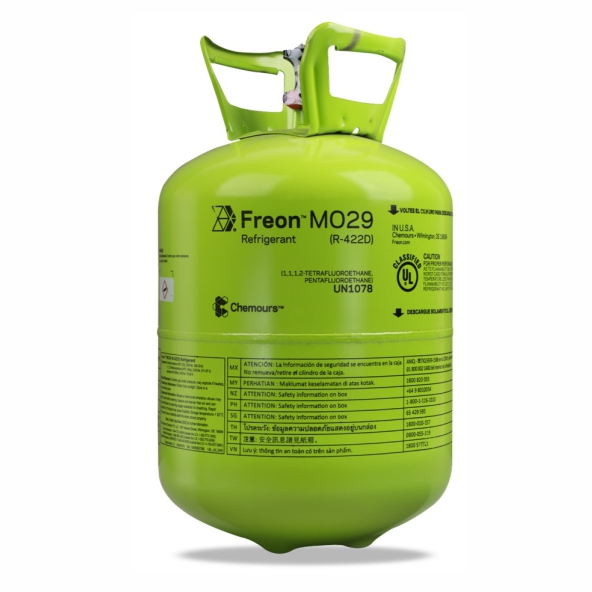 Fluido Chemours ISCEON MO29 dac 12,500Kg