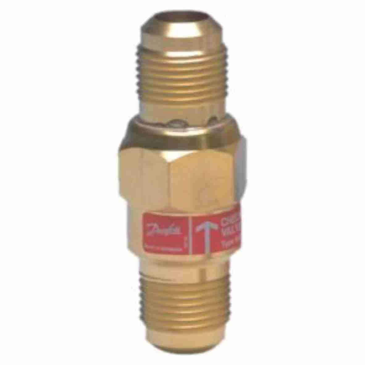 Válvula retenção Danfoss 1/4 rosca NRV06R reta