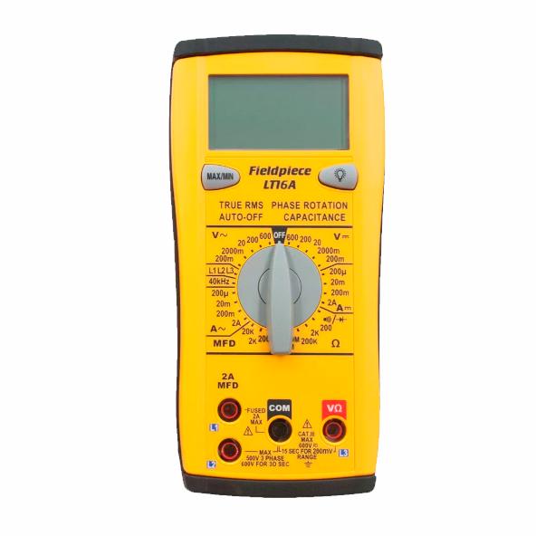 Multímetro e Capacitor LT16A Fieldpiece