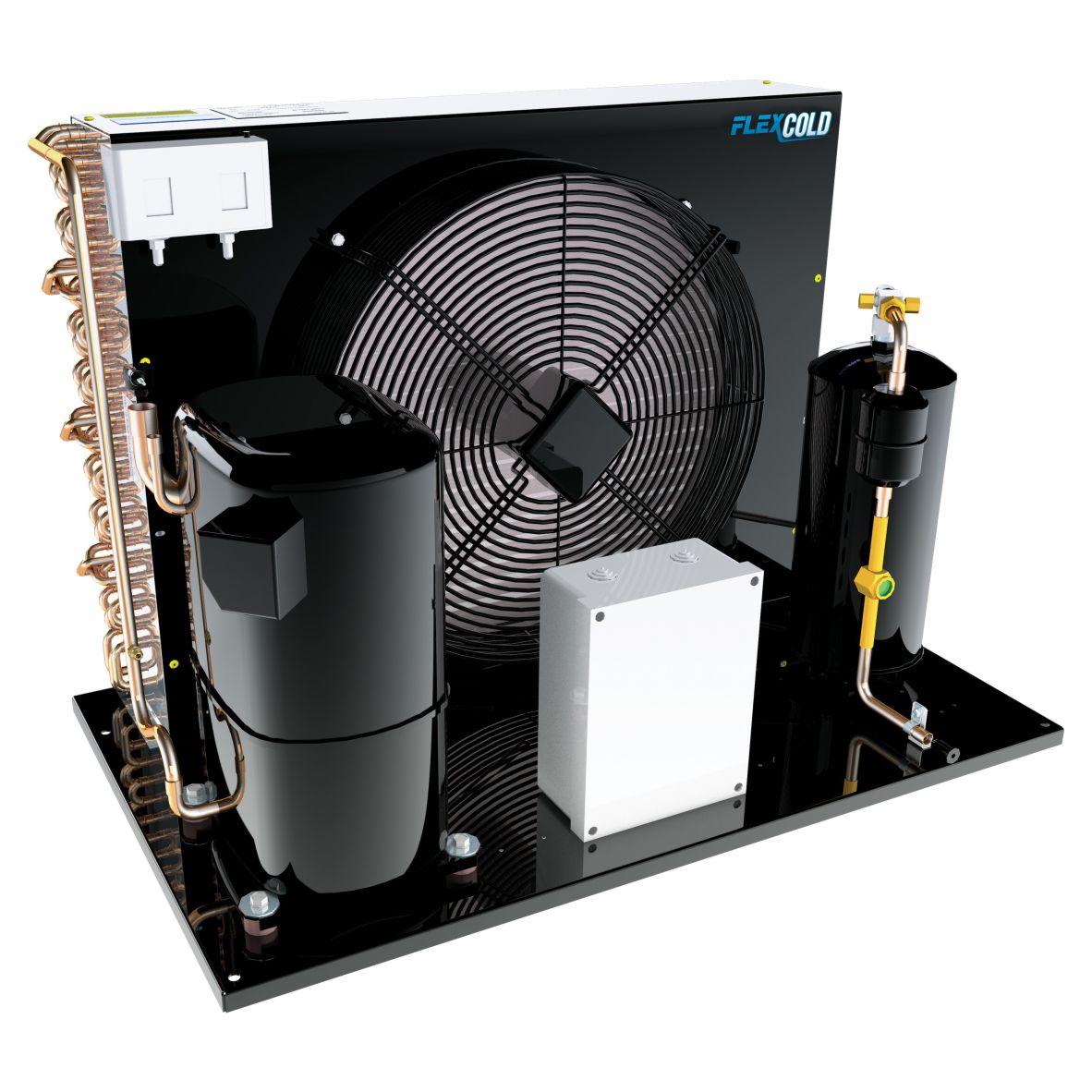Unidade Condensadora Heatcraft Flex350H2C R22 220V Trifásico