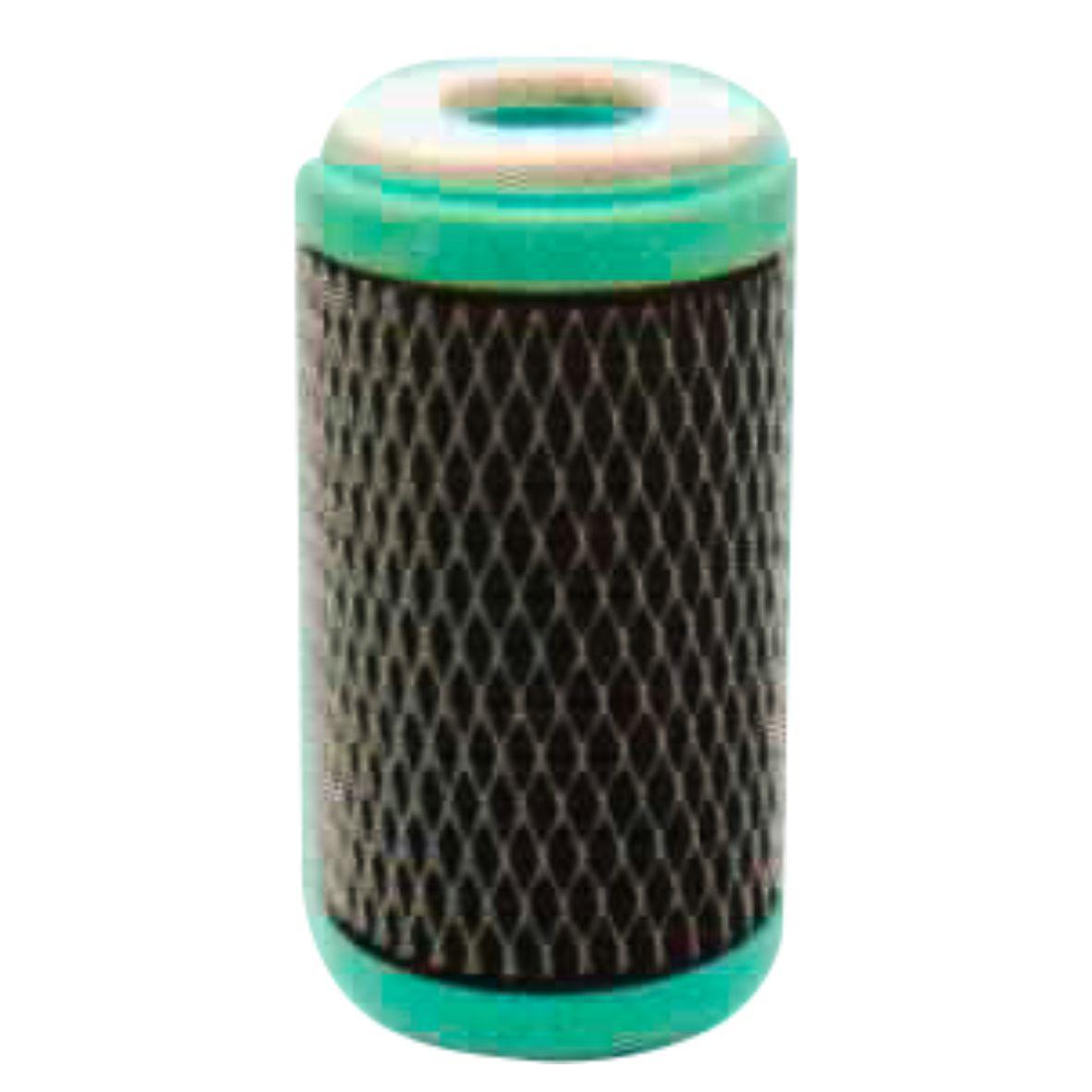 """Filtro Refil cartucho Carbon Block 5"""" Preto"""