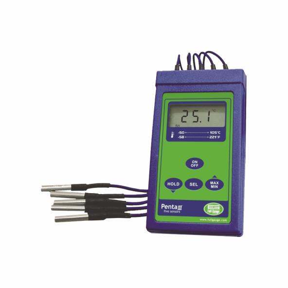 Termômetro Digital Penta III Versão 01 Full Gauge